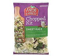 Fresh Express Salad Kit Chopped Sweet Kale Salad - 9.5 Oz