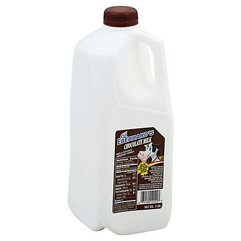 Eberhards Milk Chocolate Milk Whole - Half Gallon
