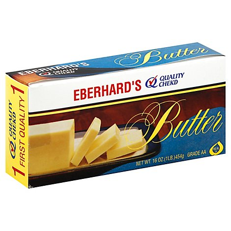 Eberhards Dairy Butter Quarters - 1 Lb