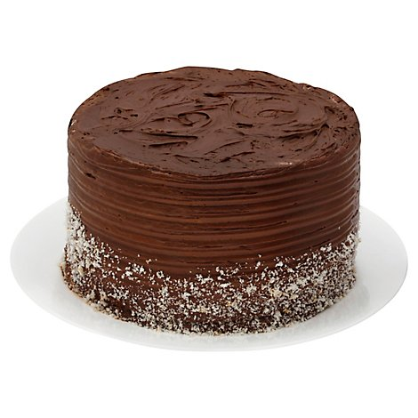 Bakery Cake 2 Layer Chocolate With Chocolate Whip - Each
