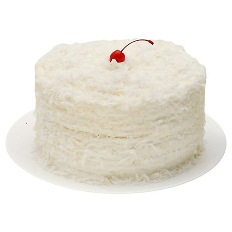 Bakery Cake 2 Layer Chocolate With White Whip - Each