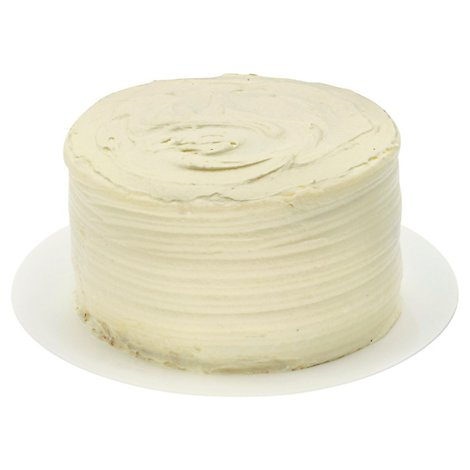 Bakery Cake White 2 Layer With White Whip - Each