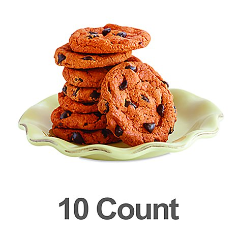 Bakery Cookies Pumpkin Chocolate Chip 10 Count - Each