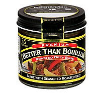Better than Bouillon Base Premium Roasted Beef - 3.5 Oz