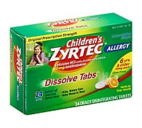 Childrens Zyrtec Oral Dissolve Tabs - 24 Count