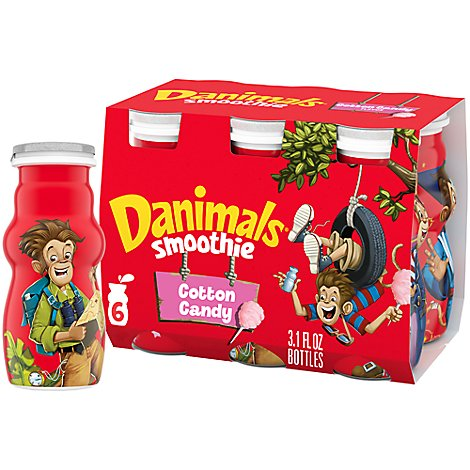Danimals Smoothie Cotton Candy - 6-3.1 Oz