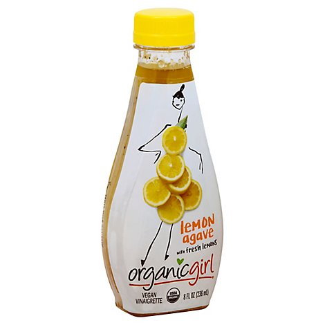 Organicgirl Dressing Lemon Agave - 8 Oz