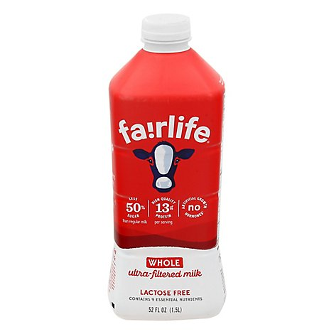 Fairlife Milk Ultra-Filtered Whole - 52 Fl. Oz.