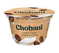 Chobani Yogurt Greek Blended Coffee & Cream - 5.3 Oz