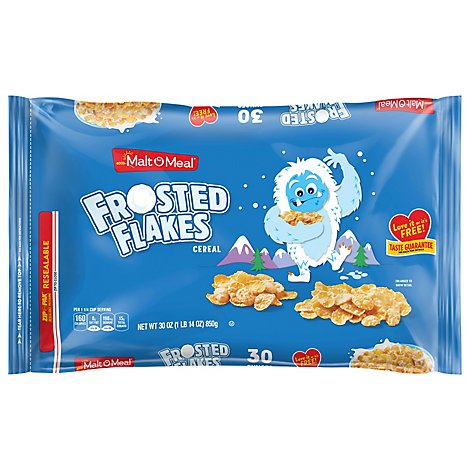 Malt-O-Meal Cereal Frosted Flakes - 30 Oz
