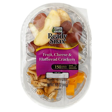 Ready Pac Ready Snax Fruit Cheese And Flatbread - 3.75 Oz
