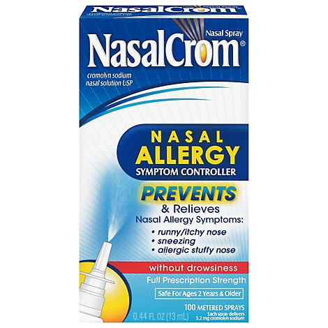 Nasalcrom Spray Allergy Prevention - .44 Oz