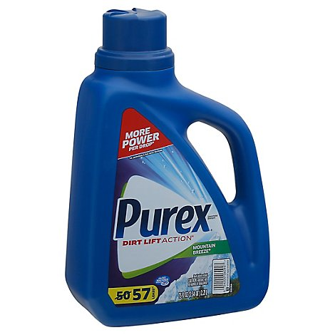 Purex Laundry Detergent Liquid Mountain Breeze 57 Loads - 75 Fl. Oz.