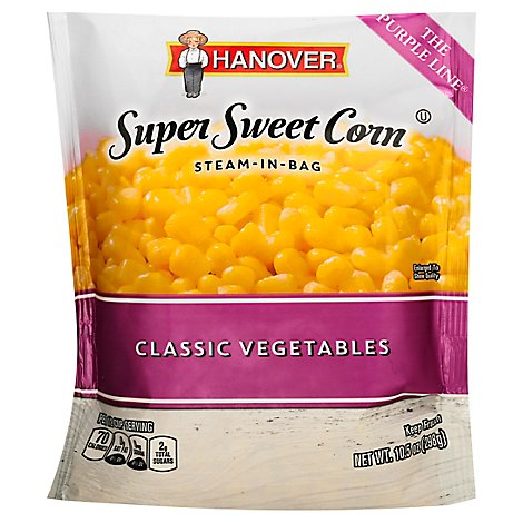 Hanover Steam In Bag Corn Super Sweet - 12 Oz