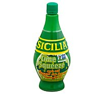 Sicilia Lime Juice Organic - 4 Oz