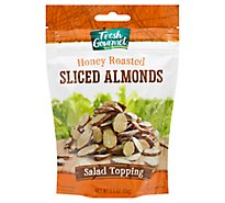 Fresh Gourmet Honey Roasted Sliced Almonds - 3.50 Oz