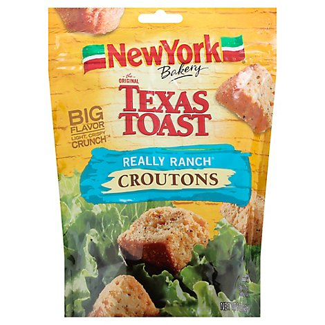 New York The Original Texas Toast Croutons Really Ranch - 5 Oz
