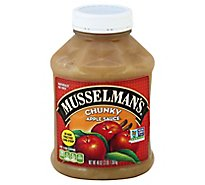 Musselmans Apple Sauce Chunky Homestyle - 48 Oz