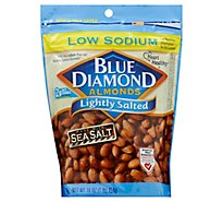Blue Diamond Almonds Lightly Salted Low Sodium - 16 Oz