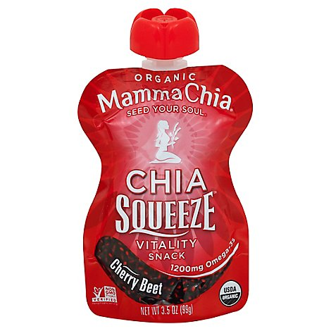 Mamma Chia Cherry Beets Squeeze - 3.5 Oz