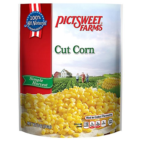 Pictsweet Farms Corn Cut Simple Harvest - 12 Oz