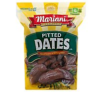 Mariani Dates Pitted - 40 Oz