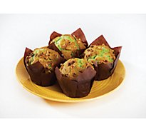 Fresh Baked Pistachio Muffins - 4 Count