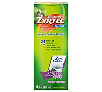 Childrens Zyrtec Grape - 4 Oz