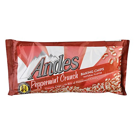Andes Baking Chips Peppermint Crunch - 10 Oz