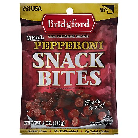 Pepperoni Snack Bites - 4 Oz