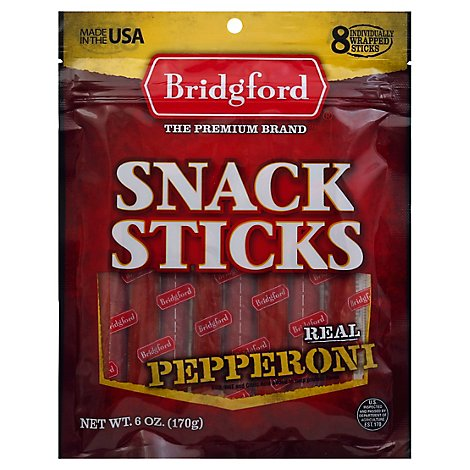 Pepperoni Snack Sticks - 6 Oz