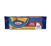 Kraft Natural Cheese Cheddar Sharp - 8 Oz