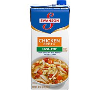 Swanson Broth Chicken Unsalted - 32 Oz