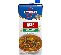 Swanson Broth Beef Unsalted - 32 Oz