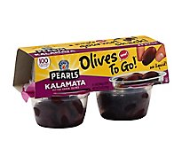 Musco Family Olive Co. Pearls Olives To Go! Pitted Greek Kalamata - 4-1.4 Oz