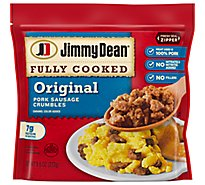 Jimmy Dean Original Sausage Crumbles Fully Cooked - 9.6 Oz
