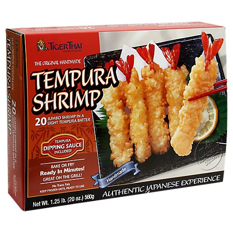 Tiger Thai Tempura Shrimp 20 Piece - 20 Oz