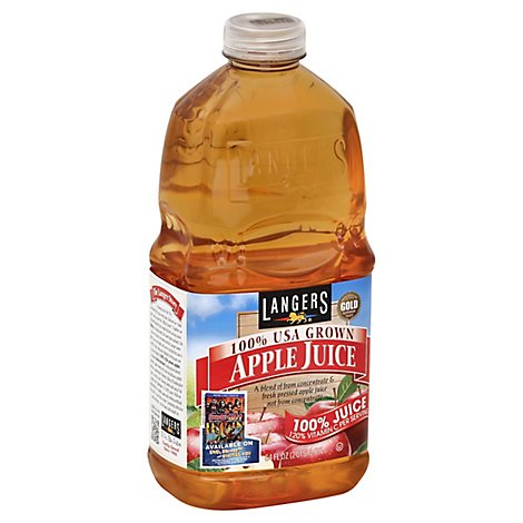 Langers Juice USA Grown Apple - 64 Fl. Oz.