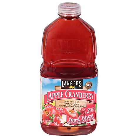 Langers Juice Apple Cranberry - 64 Fl. Oz.
