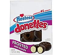 Hostess Donettes Mini Donuts Frosted - 10.75 Oz