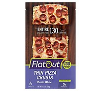 Flatout Rustic White Pizza Flats - Each