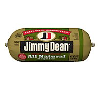 Jimmy Dean All Natural Regular Pork Sausage - 16 Oz