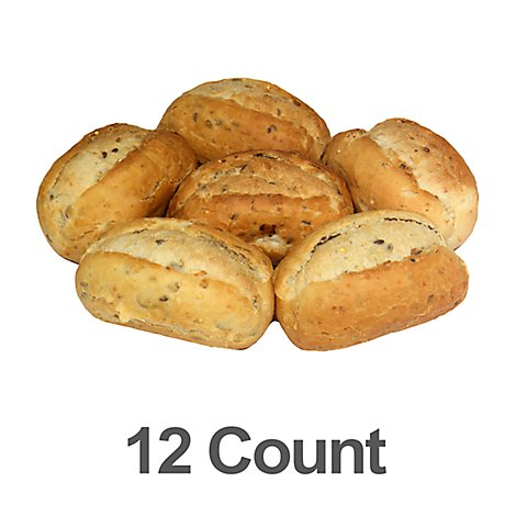 Bakery Rolls Dinner Multigrain - 12 Count
