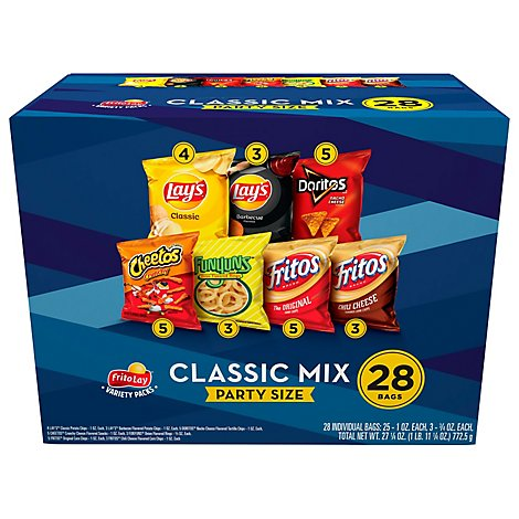 Frito-Lay Snacks Variety Party Mix - 28 Count