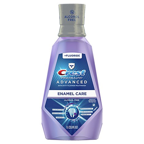Crest Pro Health Advanced Mouthwash Alcohol Free Enamel Care - 33.8 Fl. Oz.
