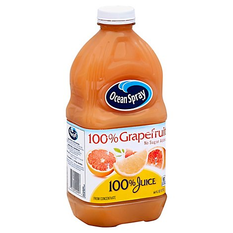 Ocean Spray 100% Juice No Sugar Added Grapefruit - 60 Fl. Oz.