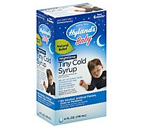 Hylands Baby Cold Syrup Nighttime - 4 Fl. Oz.