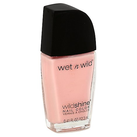 Wet N Wild Shine Nail Tickled Pink .41 Fl. Oz.