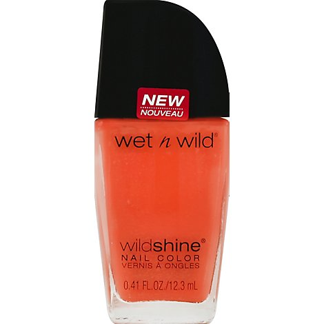 Wet N Wild Shine Nail Blazed .41 Fl. Oz.
