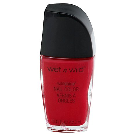 Wet N Wild Shine Nail Red Red .41 Fl. Oz.